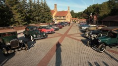 Rochester June 27, 2014 ?Dodge marked its 100th anniversary by showcasing its historically significant vehicles at the Meadow Brook Estate. Media were able to test drive more than two dozen historic Dodge sedans, muscle cars, compacts, minivans and military vehicles.