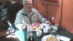 Waffles com o Rex