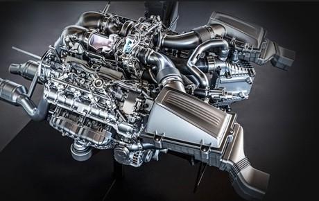Foto Legenda 02 coluna 3514 Motor Mercedes-Benz AMG V8
