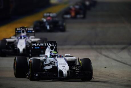 Felipe Massa: outro bom resultado manteve Williams à frente da Ferrari (Fot Glenn Dunbar)