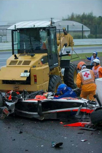 Chuva e acidentes marcam GP do Japão. Bianchi segue hospitalizado 20141007 JulesBianchi 2 Redessociais