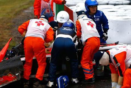 Chuva e acidentes marcam GP do Japão. Bianchi segue hospitalizado 20141007 JulesBianchi 3 Redessociais