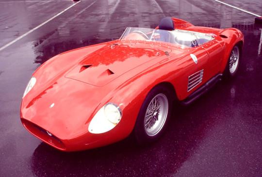 Maserati 300S a  MASERATI 300S E 450S, OBRAS DE ARTE DE UM TEMPO QUE NÃO VOLTA Maserati 300S a