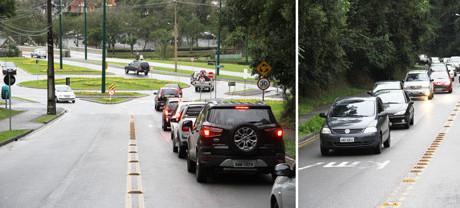 O medrosinho forma uma fila atrás de si (www.parana-online.com.br)