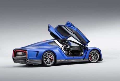 Carro baixo, assentos longe da lateral do carro, a solução é as portas se pronunciarem sobre o teto.  VW XL SPORT: O PERFIL DO ESPORTIVO DO FUTURO vw xl sport 06 1 jpg  q100