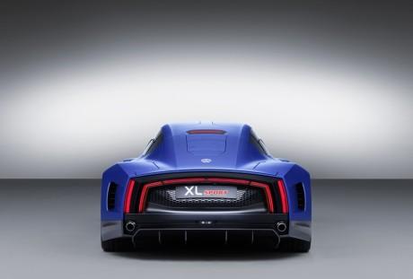 Bom Cx para um esportivo: 0,258 (foto: divulgação)  VW XL SPORT: O PERFIL DO ESPORTIVO DO FUTURO vw xl sport 12 1 jpg  q100
