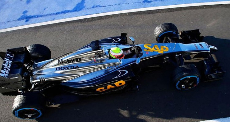 McLaren testará motor Hondaem chassi adaptado (Foto McLaren Media Centre)