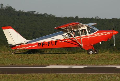 CAP4 8 PP-FLF Aero Boero  PAULISTINHA: O MAIOR TREINADOR DE PILOTOS DO BRASIL CAP4 8 PP FLF Aero Boero