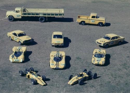 DEZ MELHORES BRASILEIROS - CARROS DE CORRIDA 1972 equipe bino motoradio