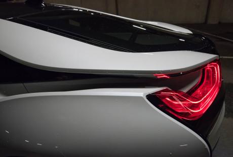 Rear wing  BMW i8, NO USO Rear wing