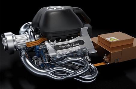 Motores da F-1: segue a discussão tipo pode-não-pode (Foto Mercedes Benz Meida