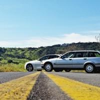 gerações distintas que compartilham a mesma filosofia, o prazer de dirigir