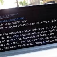 Eco Pro desliga o compressor do ar condicionado em algumas circunstâncias para poupar combustível