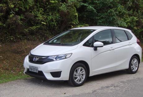 Honda Fit (foto: autor)