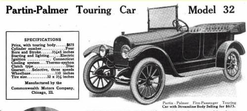 Partin-Palmer Model 32 (earlyamericanautomobiles.com)