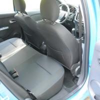 Amplo espaço e assento traseiro bem largo