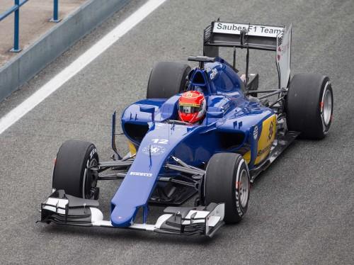 Felipe Nasr impressionou positivamente na estréia pela Sauber (Foto Sauber Motosport)