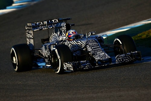 Red Bull, mais uma vez, inovou na pintura (Foto Red Bull Pool Service)