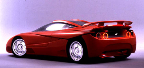 car base com  FIORAVANTI F100, O BELO FERRARI QUE NUNCA ANDOU car base com