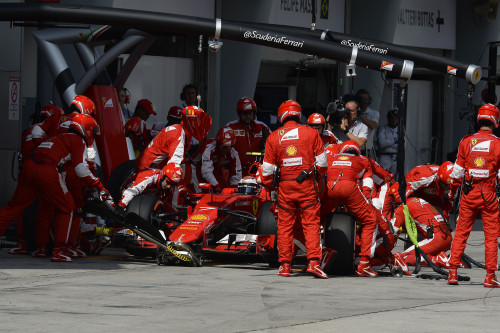 Conseguirá a Ferrari manter o mesmo rendimento na China? (foto Ferrari)