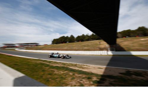 F-1 encerrou testes de pré-temporada, Mercedes segue liderando (Foto Mercedes-Benz)