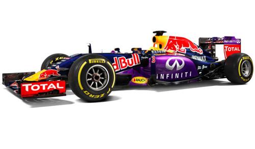 Red Bull: finalmente apresentou a pintura deste ano (Foto Red Bull)