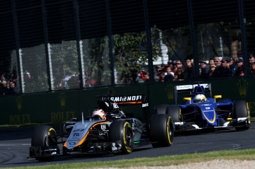 Nico Hulkenberg lidera o ataque da Force India (Foto Sahra Force India)