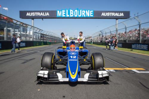 Felipe Nasr impressionou em Melbourne e fez a Sauber brilhar (Foto Sauber Motorsport)
