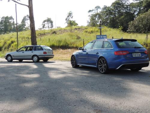 DSCN1290  AUDI RS 4 AVANT E BMW 328i TOURING E36, DUAS PERUAS BEM DIFERENTES DSCN1290
