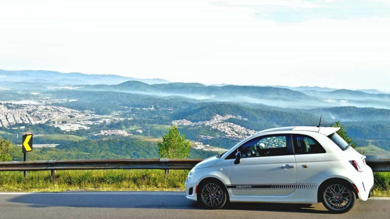 A vista do Pico do Jaraguá