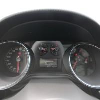 A pressão do turbo é mostrada no painel