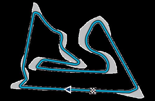 Circuito do Bahrain (Foto fia.com)  MAIS DO MESMO, EM VÁRIAS CORES E MEDIDAS 20150407 Bahrain Circuit Layout