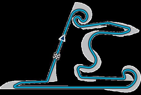 Circuito da CHina (Foto fia.com)  MAIS DO MESMO, EM VÁRIAS CORES E MEDIDAS 20150507 China Circuit Lay out