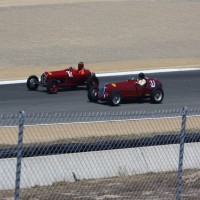Corrida de carros de GP dos anos 30