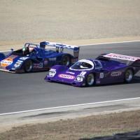 Dois Porsches, o Kremer Gulf e o 962 Wynn