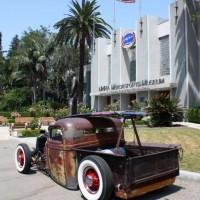 Museu Wally Park, referência dos dragsters, na Califórnia