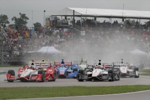 Indy estreou sob chuva em New Orleans (Foto IndyCar)  Mesmo com tempo quente em Xangai, confesso que dormi Indycar