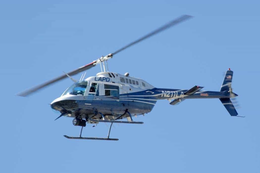 LAPD_Bell_206_Jetranger  A MARAVILHOSA JUNTA HOMOCINÉTICA LAPD Bell 206 Jetranger