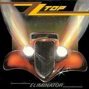 A capa do vinil de 1983. (ZZTop.com)  ELIMINATOR, O CARRO-SÍMBOLO DO ZZ TOP ZZ Top   Eliminator