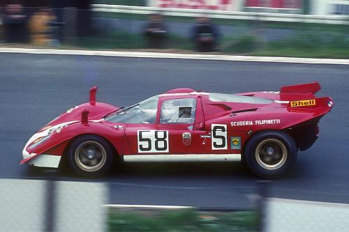 DIFERENTES CONFIGURAÇÕES DE AERODINÂMICA 05 Ferrari 512S Mike Parkes Nurburgring 1970 formulapassion it