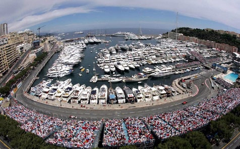 Mónaco esbanja charme a beira do Mediterrâneo (Foto Red Bull Content Pool)  Antagonismo une Indy a Mônaco 20150520 Monaco Harbour F1 RedBull