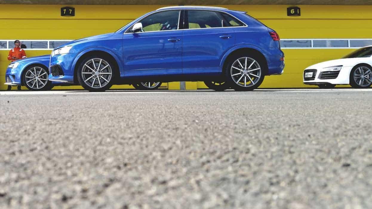 RS Q3, o 5-cilindros faz um som maravilhoso!  AUDI RS, 20 ANOS (COM VÍDEO) AUDI RS EXPERIENCE 28