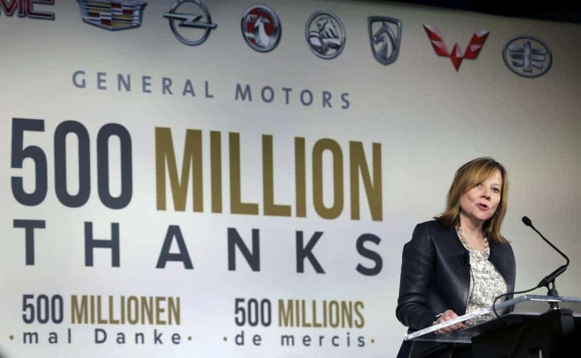 Mary  GENERAL MOTORS COMEMORA PRODUÇÃO DO 500.000.000° VEÍCULO Mary1