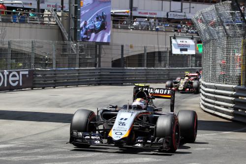 Sergio Perez conseguiu o melhor resultado do ano (foto Sahara Force India)