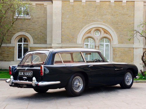 1965_Aston mad4wheels  AS DEZ MAIS EXÓTICAS PERUAS ESPORTIVAS DE TODOS OS TEMPOS 1965 Aston mad4wheels