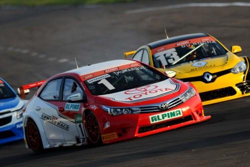 Toyota e Renault venceram nas etapas de Marcas (foto Fernanda Freixosa)