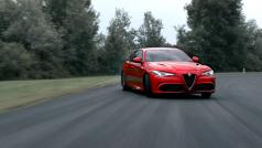 Alfa Romeo Giulia em ação!