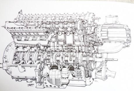 Desenho de Max Millar, da Autocar