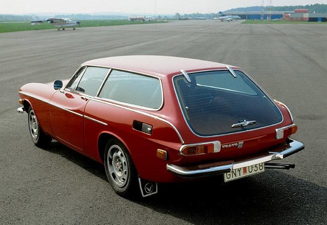 Volvo P1800E, 1972-73.  (Handout)