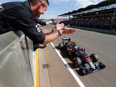 Quem poderia esperar Fernando Alonso em quinto lugar? (foto McLaren)